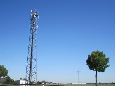 Masten Handy auf Rügen