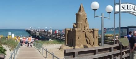Sandfest in Binz aus 2012