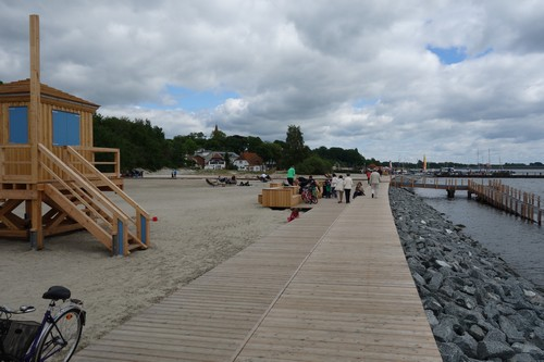 Barrierefreier Strand in Altefähr