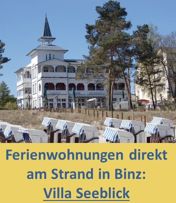 Villa Seeblick Binz Rügen